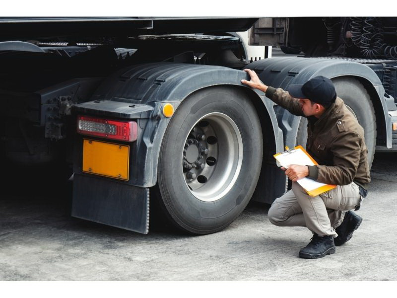 Inspection Enforcement with Trucks and Trailers